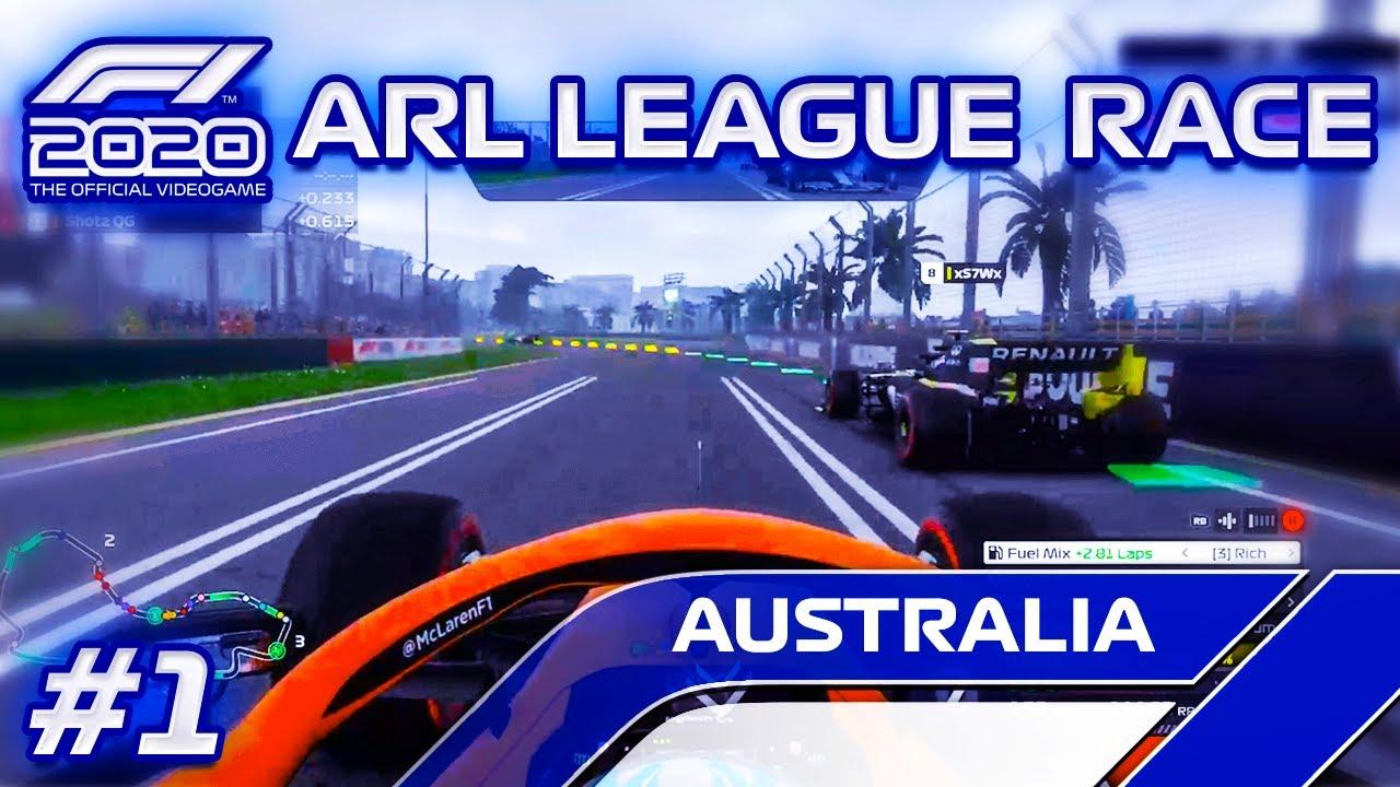 F1 2020 ARL LEAGUE RACE! ONLINE RACING IN F1 2020 | RACE 1 AT AUSTRALIA | | ANALYST RACING LEAGUE!