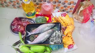 Bengali vlog /আমার সাপ্তাহিক বাজার/My weekly grocery shopping  vlog/ BD Vlogger Toma