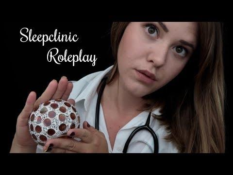 ASMR Sleep Clinic Roleplay ♡ mit euren gewünschten TRIGGERN | deutsch/german