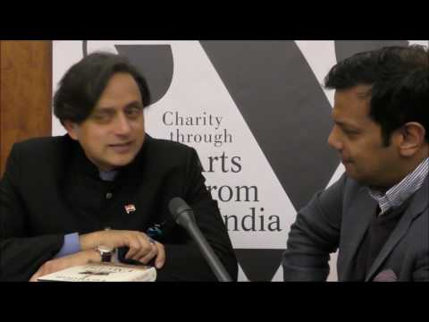 """Churchill is no better than Hitler"" - Dr Shashi Tharoor"