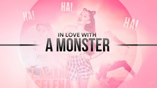 in love with a monster   ariana selena