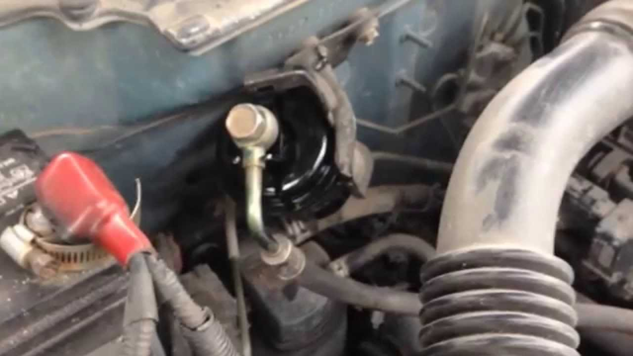 Changing the Fuel Filter on 1999 Honda Civic LX YouTube