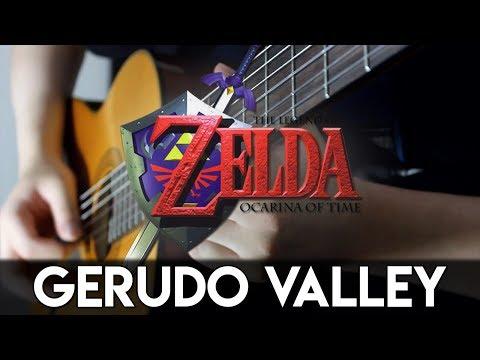 Gerudo Valley (Ocarina Of Time) Guitar Cover   DSC