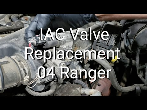 IAC Valve Replacement 04 Ford Ranger 3.0L