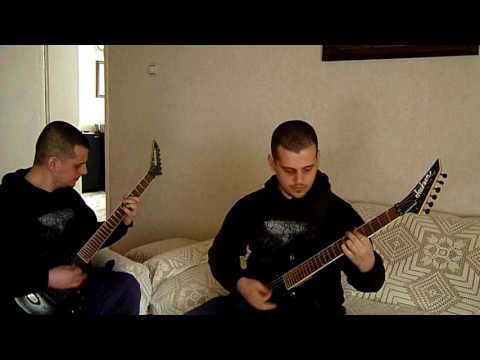 Cradle Of Filth - 8 - Haunted Shores (Dual Guitar Cover)