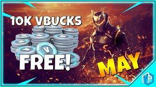 How to Get 10,000 VBucks Fortnite (MAY) Fortnite Battle Royale!