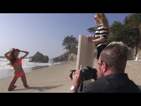 Bikinishoot in Malibu voor Beach Bunny - I CAN MAKE YOU A SUPERMODEL