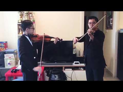 Violin duet : 12 canons melodieux ou 6 sonates en duo:sonata in g major