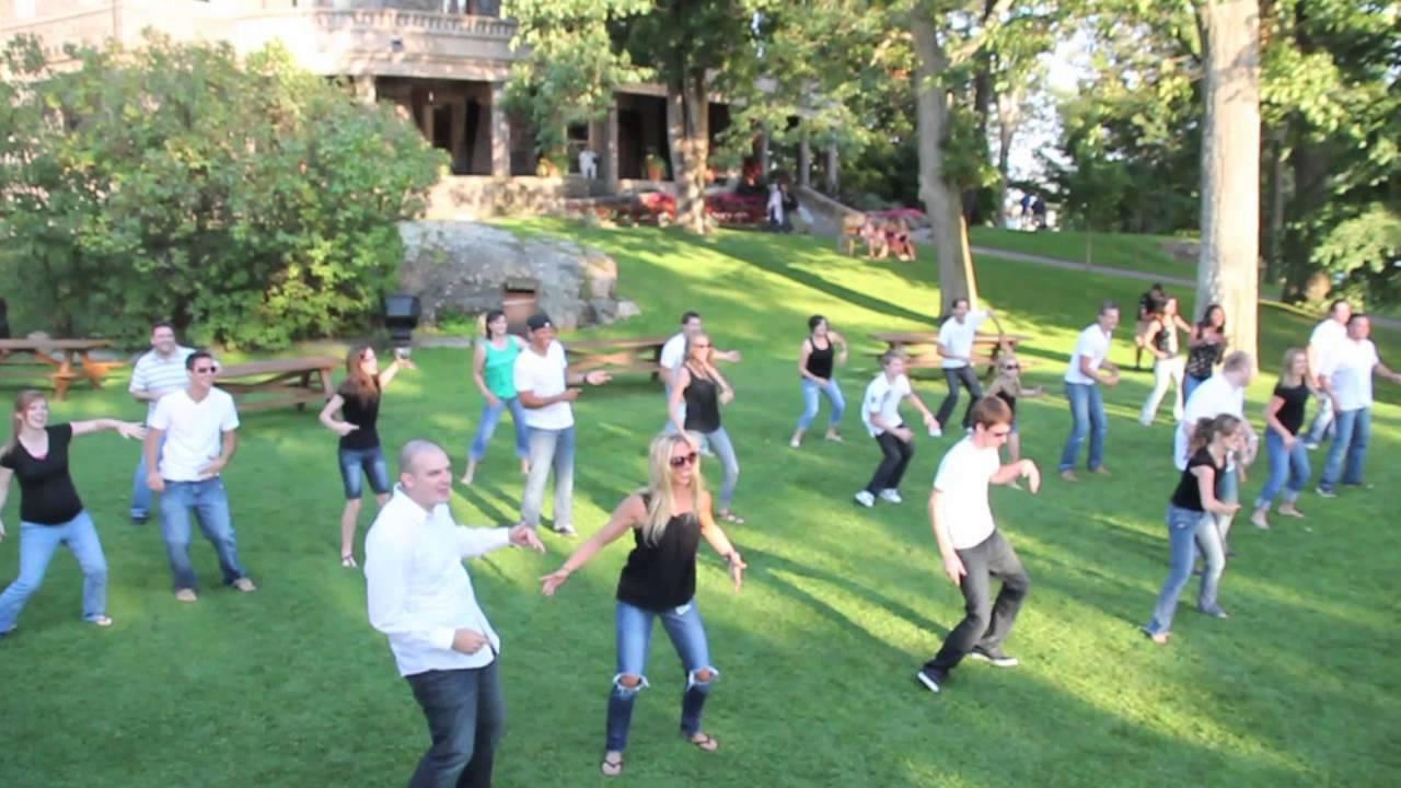 surprise flash mob marriage proposal at boldt castle gilchristshaw short version youtube