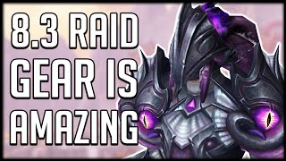 FINALLY! Some Good Looking Raid Armor Sets For Patch 8.3