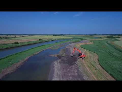 Using dredged sediment near the River Bure