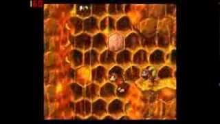 Donkey Kong Country 2 102% Walkthrough Part 6 - Scary Wasp