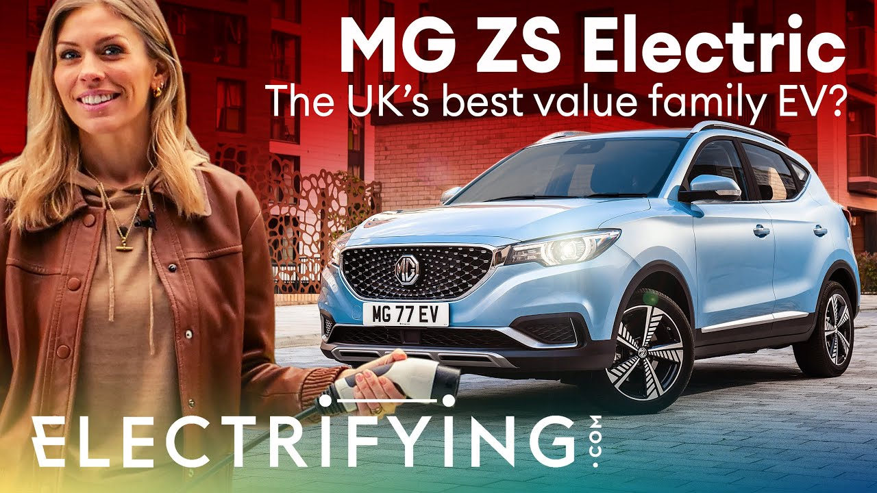 MG ZS EV SUV 2021 in-depth review: The UK's best value family EV? / Electrifying
