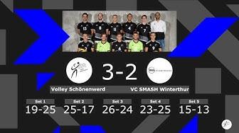 Volley Schönenwerd II vs. VC Smash Winterthur, NLB-Herren