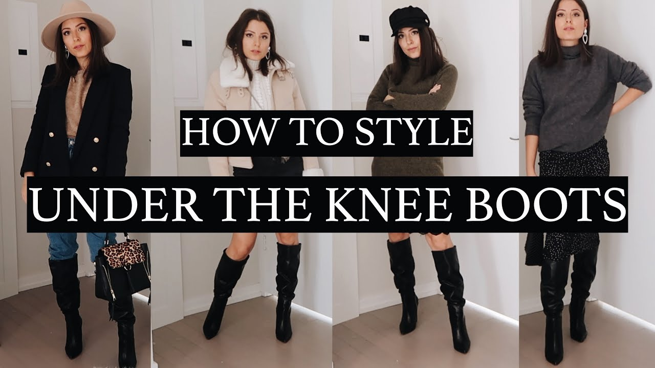 How To Style Under The Knee Boots   Love Of Mode