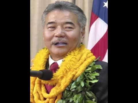 Words of Wisdom from Governor of Hawaii David Ige