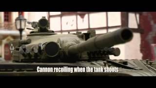 радиоуправляемый танк vsp vstank pro t 72 m1