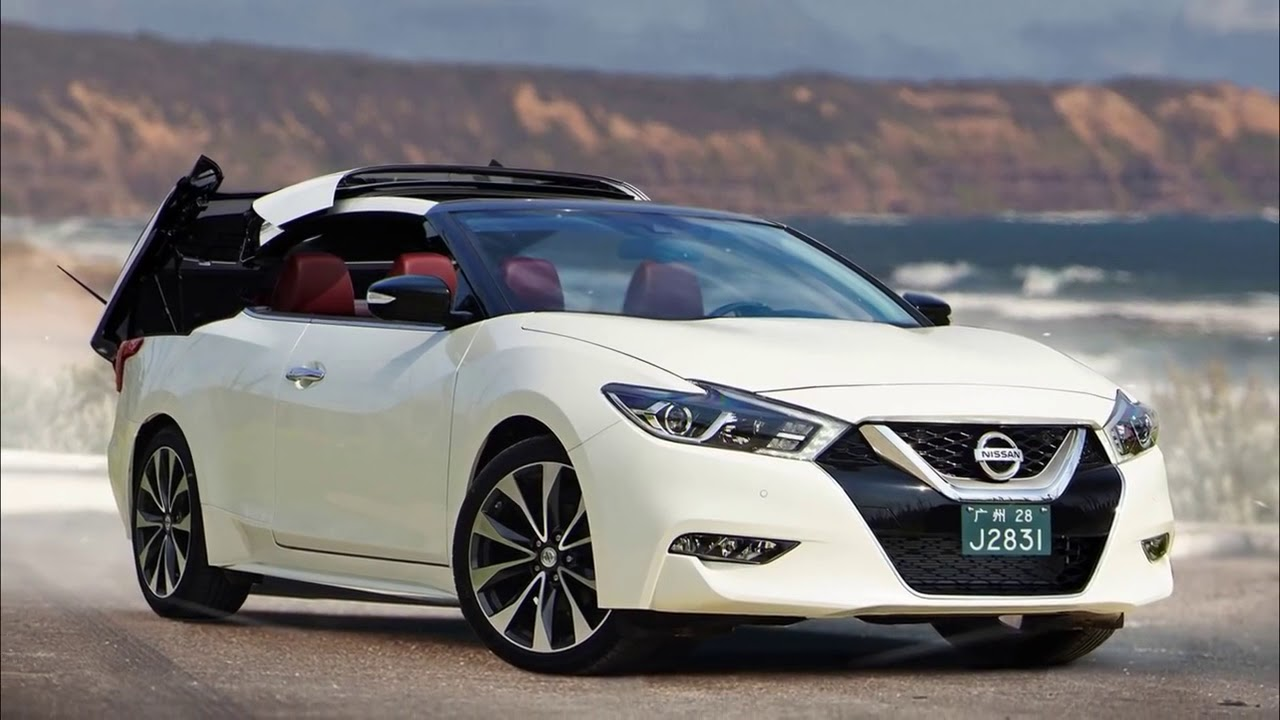 2018 Nissan Maxima Convertible - YouTube