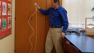 Slow Moving Waves in Rope - Physics of toys // Homemade Science with Bruce Yeany