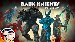 Evil Batman Origins of the Dark Multiverse - Full Story   Comicstorian