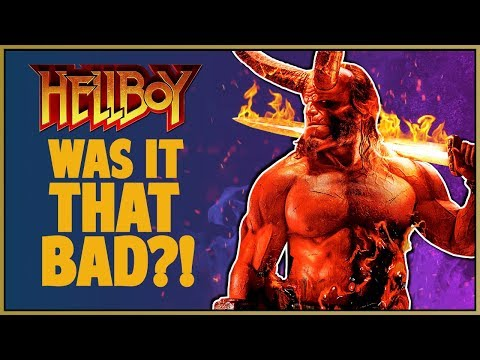 HELLBOY 2019 MOVIE REVIEW - Double Toasted Review