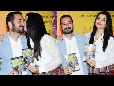 Aishwarya Rai Launches Best Friend Zirak Marker's Book