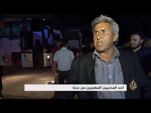 مهجرو درعا يصلون إلى ريف حماة الشمالي  - نشر قبل 1 ساعة