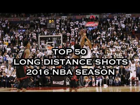 Top 50 Long Distance Shots: 2016 NBA Season