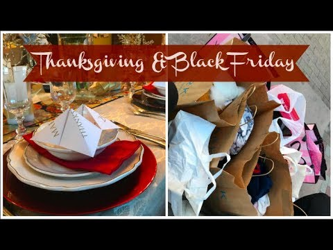 THANKSGIVING & BLACK FRIDAY AUX USA !