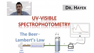 a report on the lab experiment on the uses of spectrophotmetry