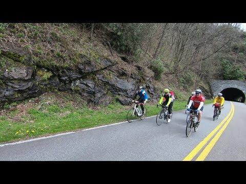 Cycling around Mount Mitchell  North Carolina Weekend  UNC-TV