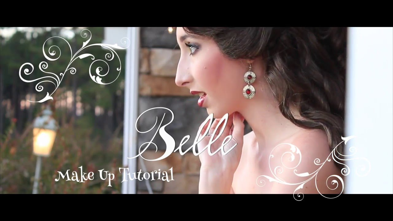 Belle face character makeup tutorial youtube belle face character makeup tutorial baditri Choice Image