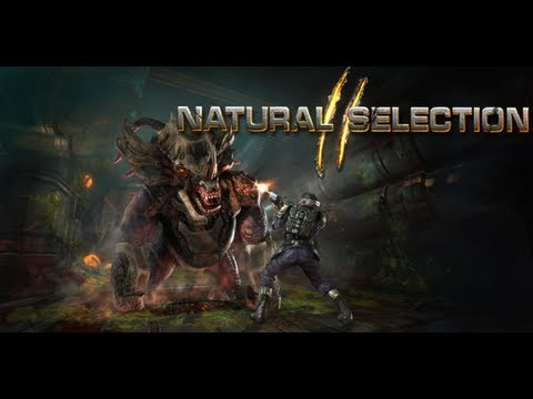 Games Night - Featured Game Natural Selection 2  [HD-720p] Gameplay Alien vs Human Commander Voip