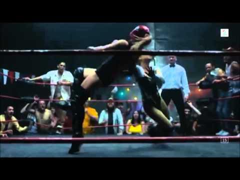 Myanna Buring Wrestling