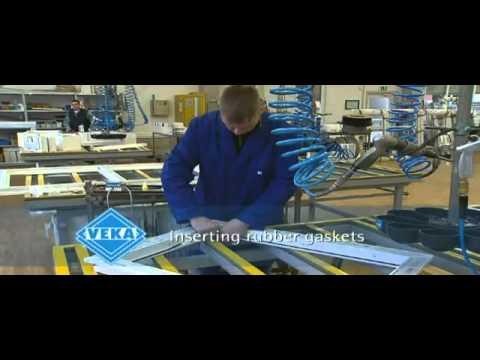 Upvc Windows Amp Doors Manufacturing Process Youtube