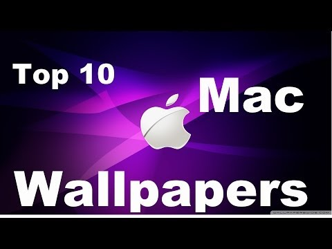 Top 10 Mac Wallpapers HD + DOWNLOAD