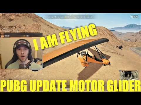ChocoTaco Tries New Motor Glider Fly In Pubg