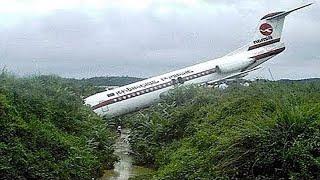 10 Самых эпичных посадок самолетов