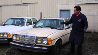 Mercedes W123 300TD Turbo Diesel Wagon Restoration Part 1: Visual Inspection