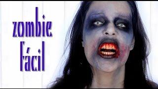 tutorial maquillaje zombie fcil de hacer makeup fx 59   silvia quiros