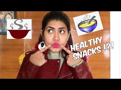Healthy SNACKS For Weight Loss | Quick Indian Snacks At Home / Office | Foods To Lose Weight