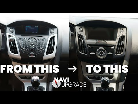 2012 to 2014 Base Ford Focus MK3 Sync 3 Upgrade Tutorial