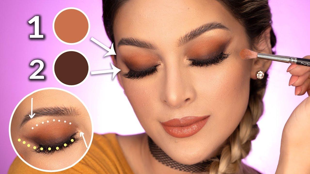 Sombras Maquillaje De Dia Paso A Paso