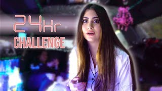 24 HOURS IN A LIMO CHALLENGE! | Nicolette Gray