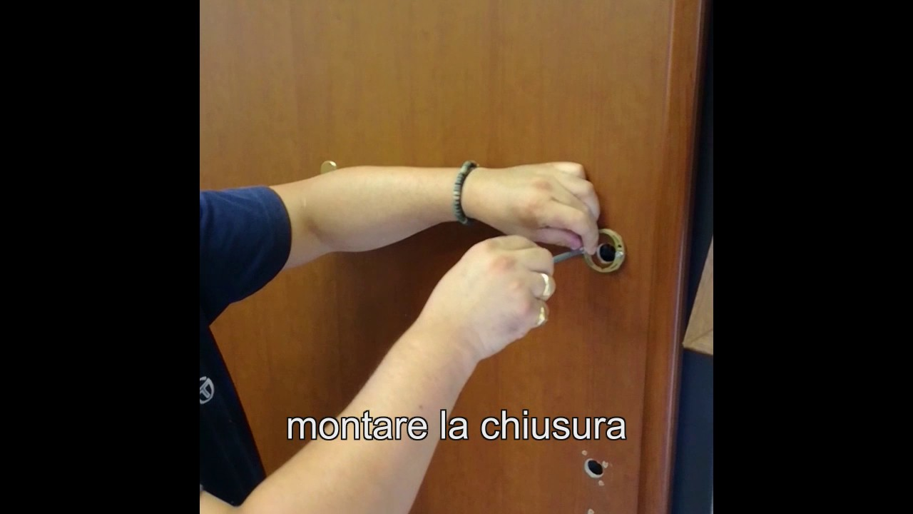 Montaggio porta blindata youtube - Montaggio paraspifferi porta blindata ...