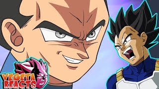 Vegeta Reacts To Vegeta Ultra Instinct Animation - Dragon Ball Super Parody