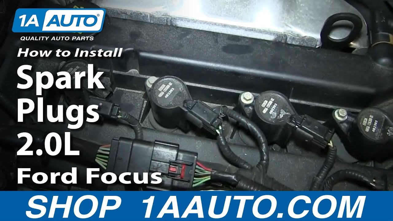 hight resolution of how to replace spark plugs 00 07 ford focus 2 0l