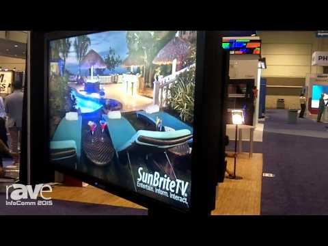 InfoComm 2015: SunBriteDS Introduces 42-Inch Pro Series Outdoor Television