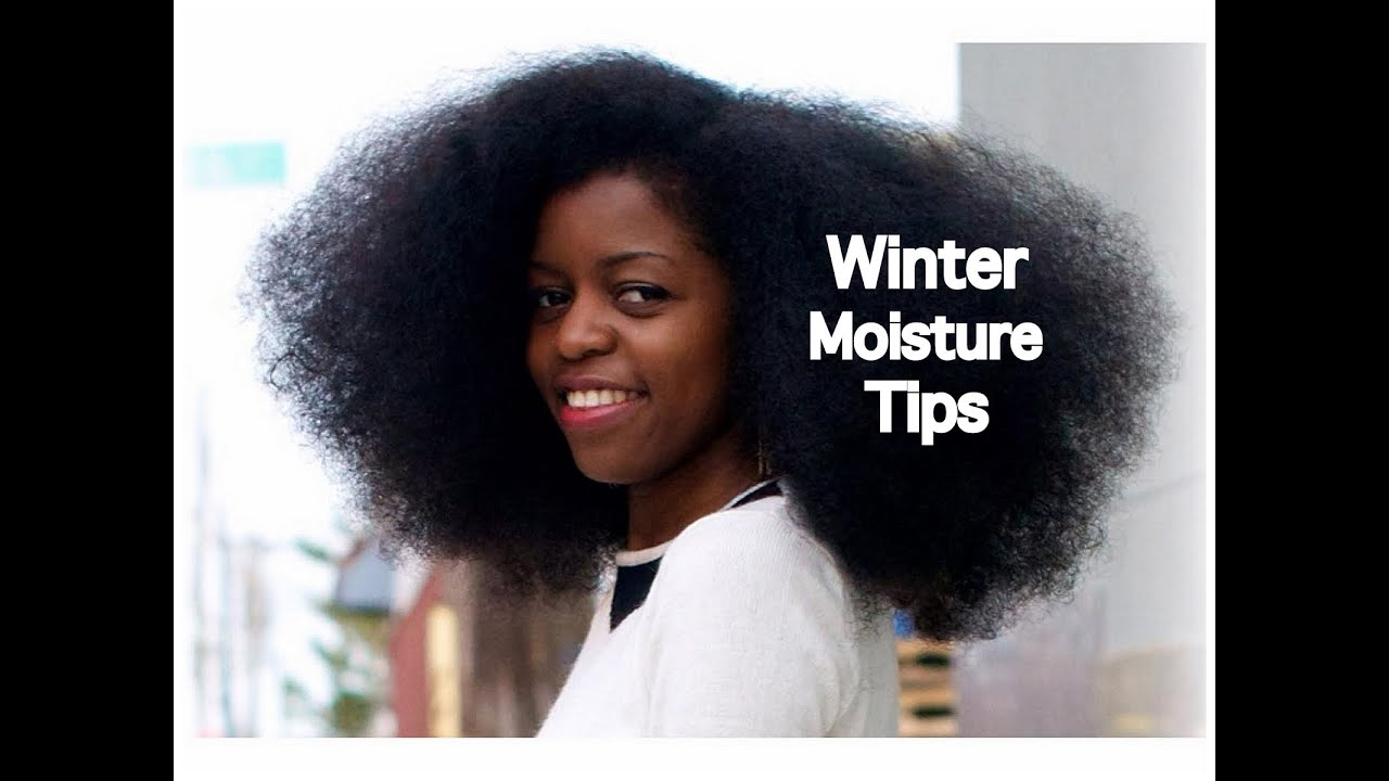 Dry Natural Hair In The Winter