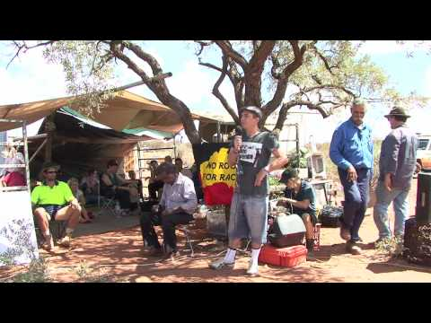 Part 2 Speeches: Opening Protest House Ampilatwatja Walk-off